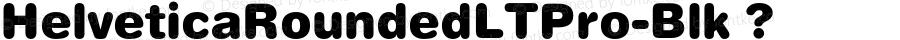HelveticaRoundedLTPro-Blk ? Version 1.000;PS 001.000;hotconv 1.0.38;com.myfonts.linotype.helvetica.pro-rounded-black.wfkit2.3JUK