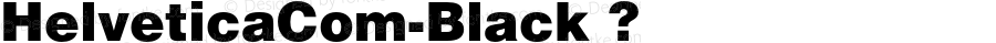 HelveticaCom-Black ? Version 1.01;com.myfonts.linotype.helvetica.com-black.wfkit2.3GKx