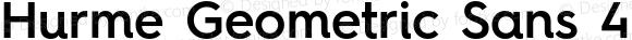 Hurme Geometric Sans 4 SemiBold