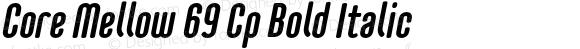 CoreMellow-CpBoldItalic