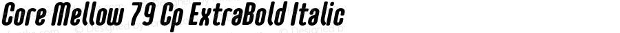 CoreMellow-CpExtraBoldItalic