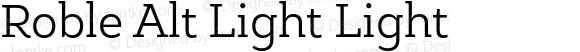 Roble Alt Light Light Version 001.000