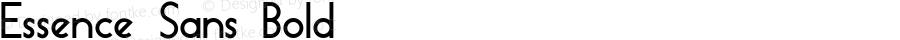 Essence Sans Bold Version 1.003 2013