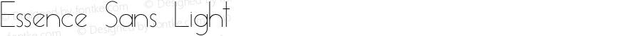 Essence Sans Light Version 1.003 2013