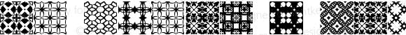 Sl Tiler 1 Regular 1.0  (C) 2004 SlFonts.Com