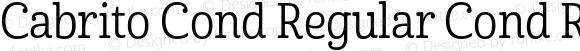 Cabrito Cond Regular Cond Regular