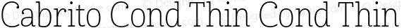 Cabrito Cond Thin Cond Thin