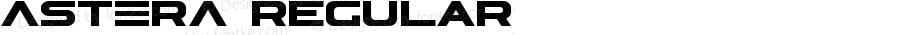 ASTERA Regular Version [2.00] December 27, 2013