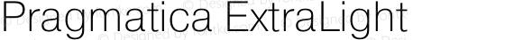 Pragmatica ExtraLight
