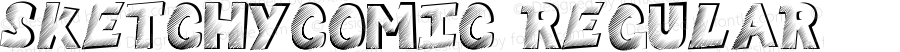 SketchyComic Regular Version 1.0