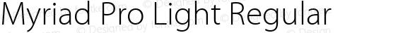 Myriad Pro Light Regular Version 2.006;PS 002.000;Core 1.0.38;makeotf.lib1.6.6565