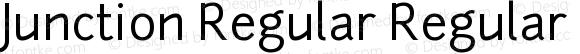 Junction Regular Regular