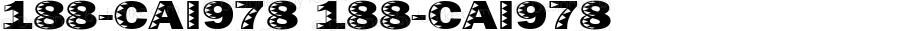 188-CAI978 188-CAI978 Version 3.0