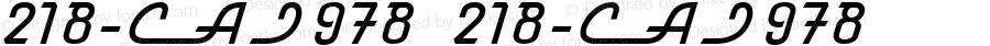 218-CAI978 218-CAI978 Version 3.0