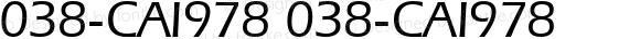 038-CAI978 038-CAI978 Version 3.0