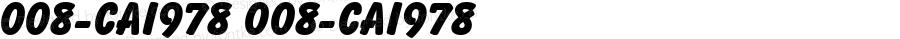 008-CAI978 008-CAI978 Version 3.0