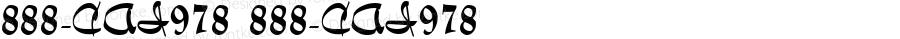 888-CAI978 888-CAI978 Version 3.0