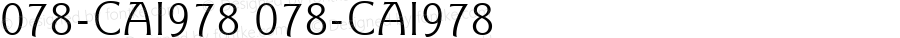 078-CAI978 078-CAI978 Version 3.0