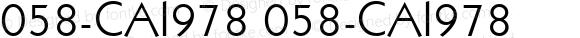 058-CAI978 058-CAI978 Version 3.0