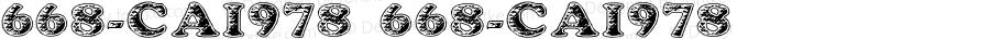668-CAI978 668-CAI978 Version 3.0