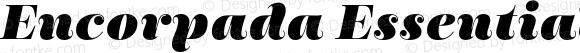 Encorpada Essential Black Italic