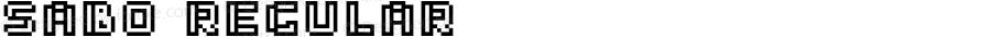 Sabo Regular Version 1.001;PS 001.001;hotconv 1.0.70;makeotf.lib2.5.58329