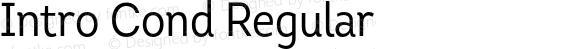 Intro Cond Regular Version 1.000 2014 initial release