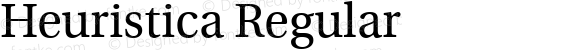 Heuristica Regular