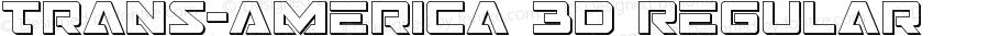 Trans-America 3D Regular Version 1.0; 2013