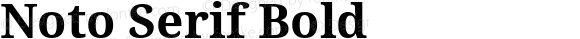 Noto Serif Bold