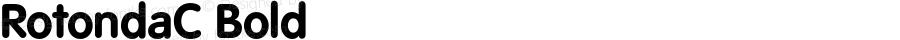 RotondaC Bold OTF 1.0;PS 001.000;Core 116;AOCW 1.0 161