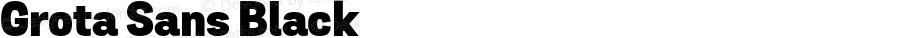 Grota Sans Black Version 1.0; webfont-rip-adam 1.0;