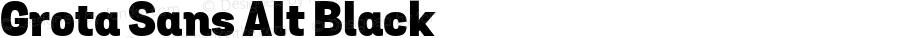 Grota Sans Alt Black Version 1.0; webfont-rip-adam 1.0;