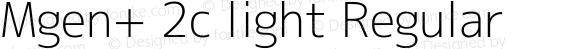 Mgen+ 2c light Regular