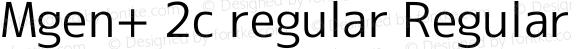 Mgen+ 2c regular Regular