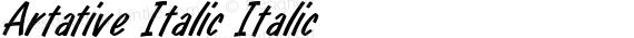 Artative Italic Italic preview image
