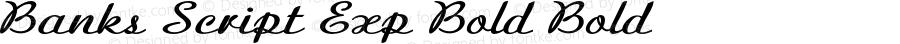 BanksScript-ExpandedBold