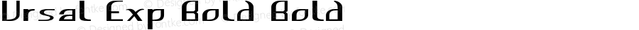 Ursal-ExpandedBold
