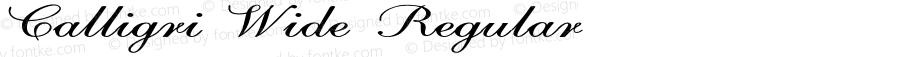 Calligri-ExtraexpandedRegular