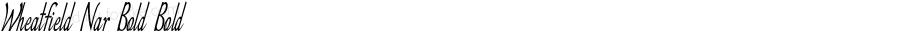 Wheatfield-ExtracondensedBold
