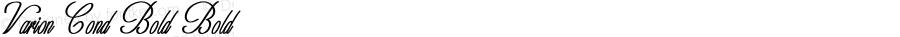 Varion-CondensedBold