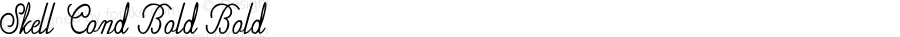 Skell-CondensedBold