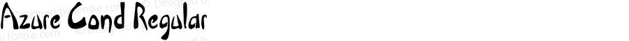 Azure-CondensedRegular