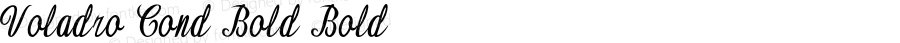 Voladro-CondensedBold