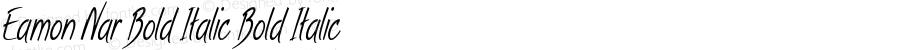 Eamon-ExtracondensedBoldItalic