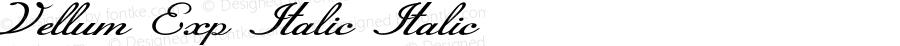 Vellum-ExpandedItalic