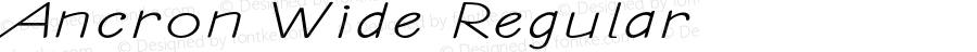 Ancron-ExtraexpandedRegular
