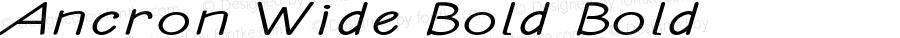 Ancron-ExtraexpandedBold