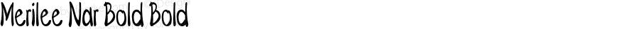 Merilee-ExtracondensedBold
