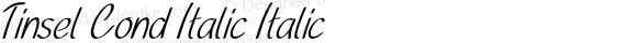 Tinsel Cond Italic Italic preview image